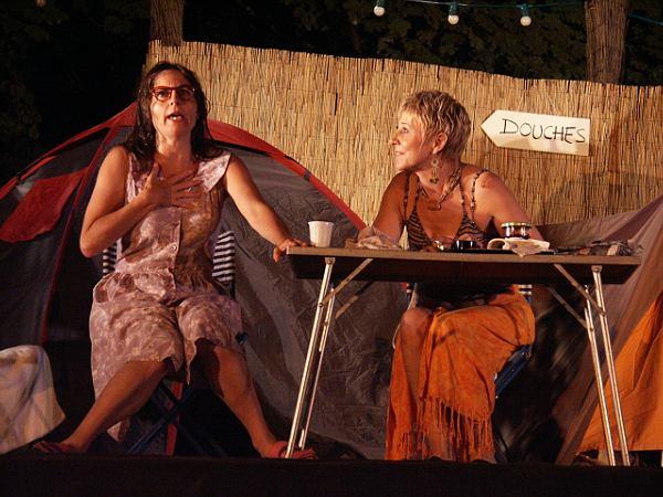 Chez ma tente - Théâtrales de Collonges-la-Rouge