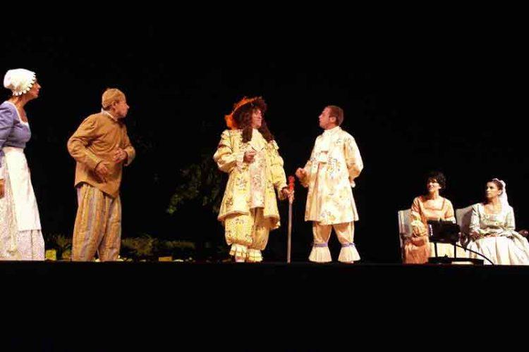 Le Bourgeois Gentilhomme - Théâtrales de Collonges-la-Rouge