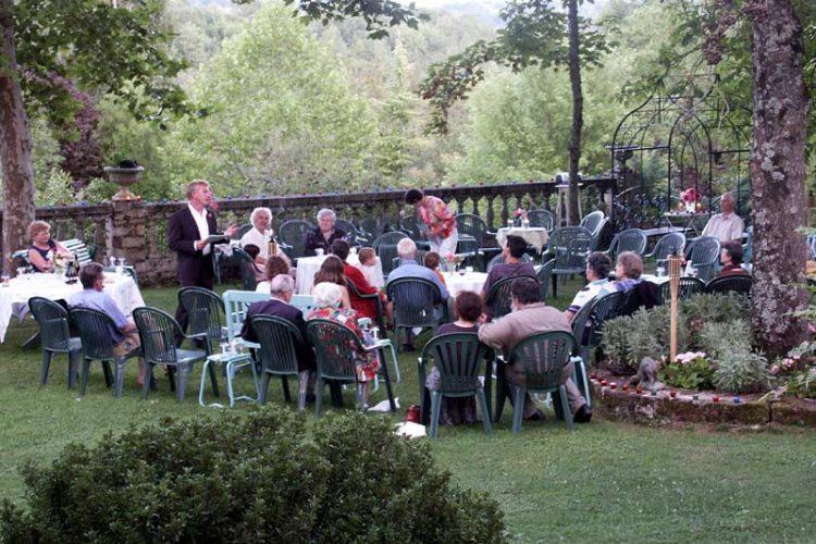 Soirée «Prose champêtre et poésie de jardin» - Théâtrales de Collonges-la-Rouge